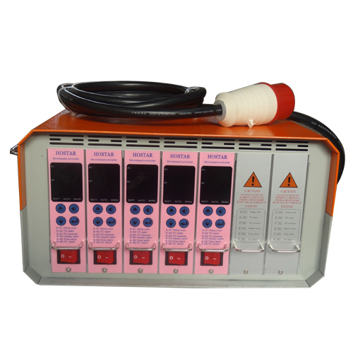 浩琛五组热流道温控器