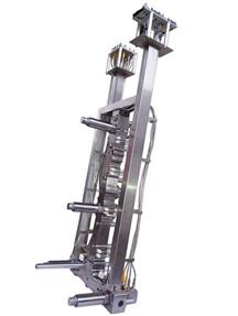 五咀整体式油压针阀分流板