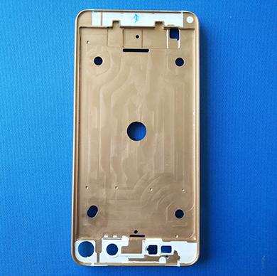 手机塑包铝合金外壳(纳米注塑